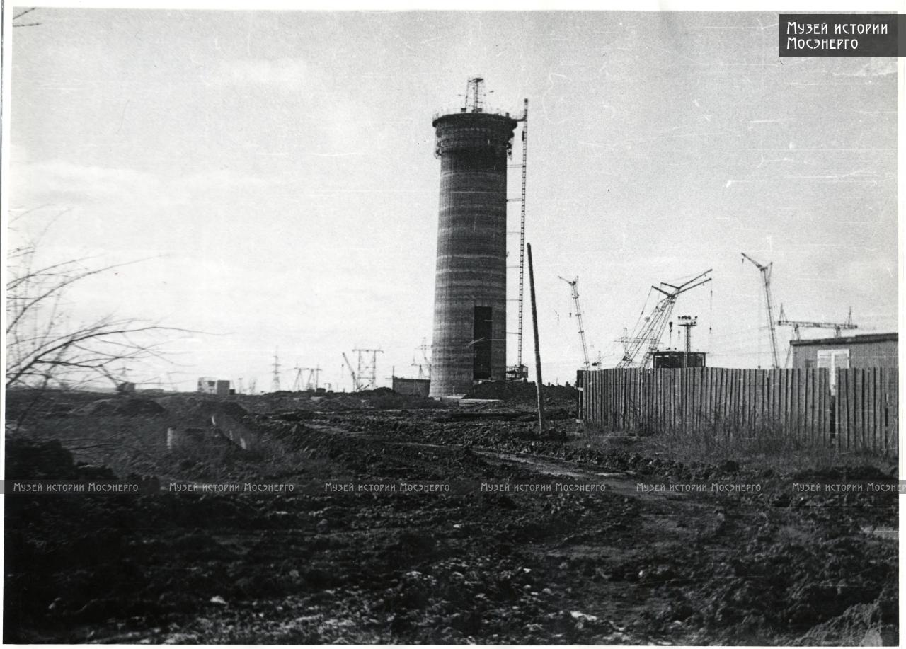1974с строительная площадка ТЭЦ2