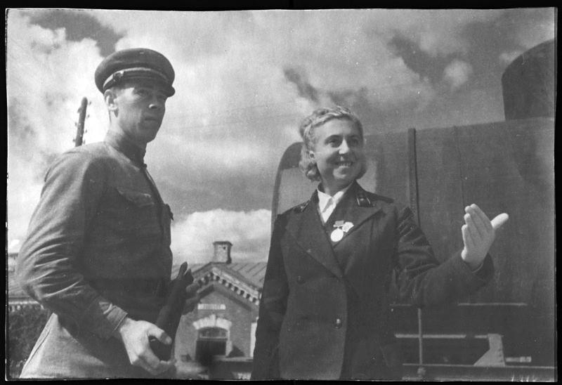 Павлюткина - начальник станции Московско-Киевской железной дороги5