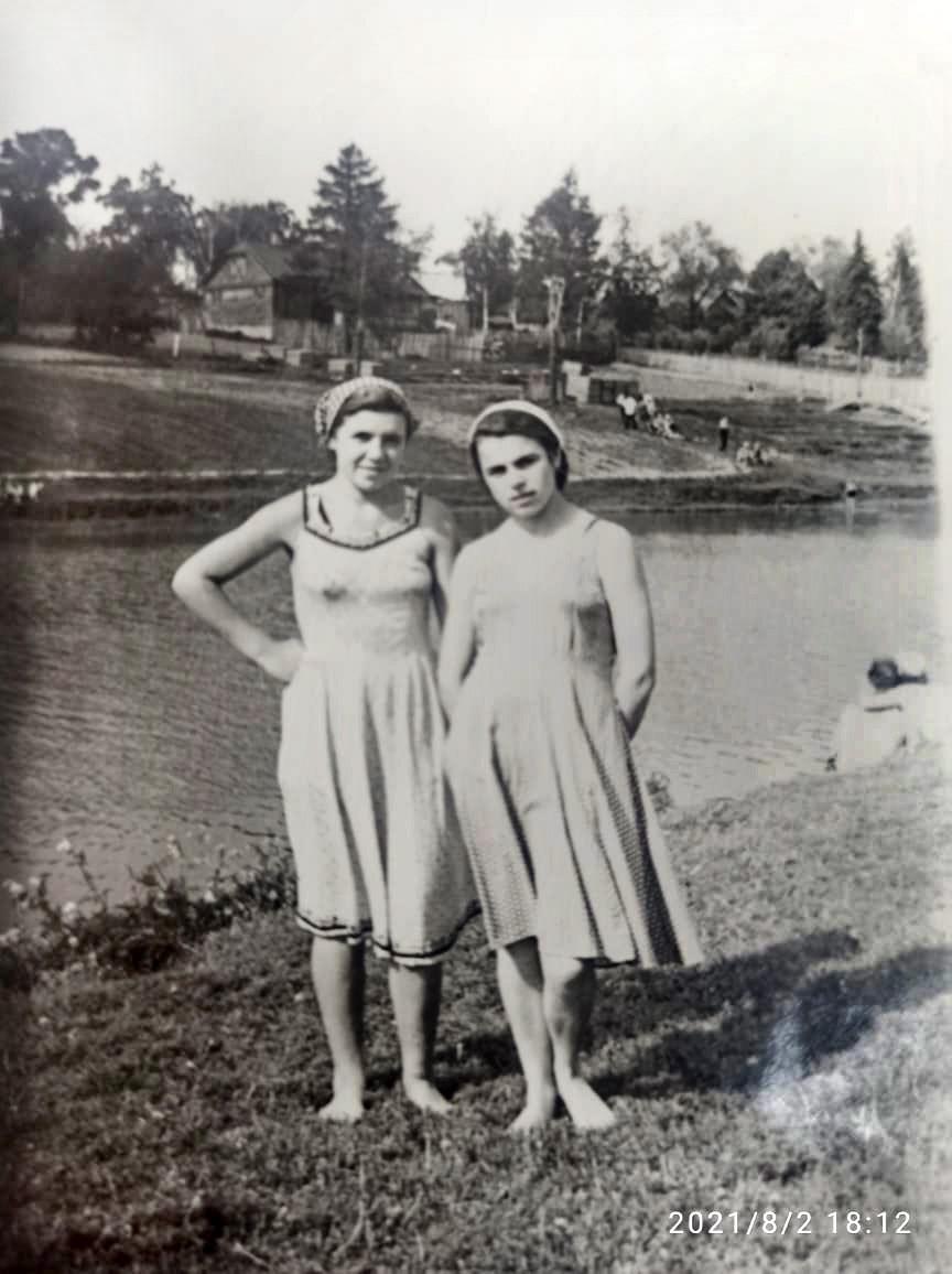 1956 год большой пруд село Очаково. Алексей Кузин2