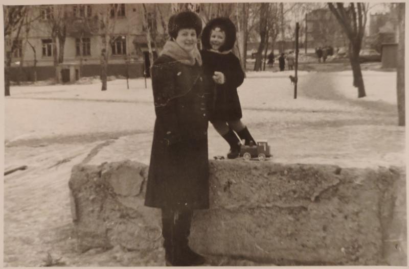 Милицейский двор. Примерно 1983 год