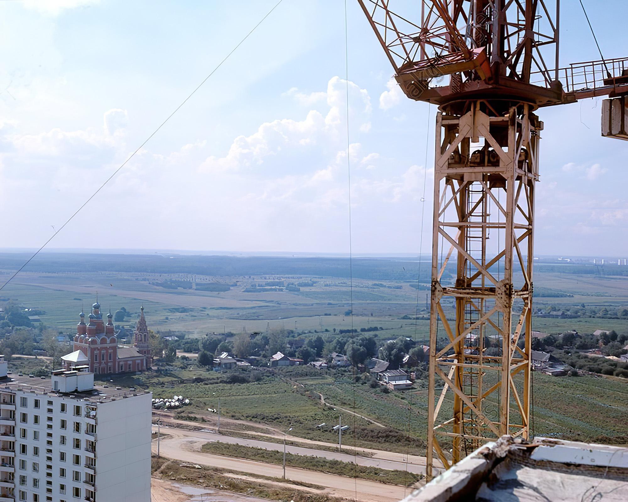 1971 Тропарёво из архива РИА Новости