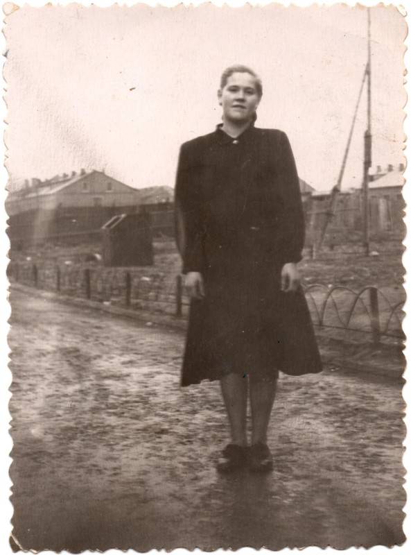 1957 Вид на улицу Калинина. Татьяна Пичугина