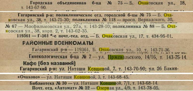 1977 Москва. Краткая адресно-справочная книга6