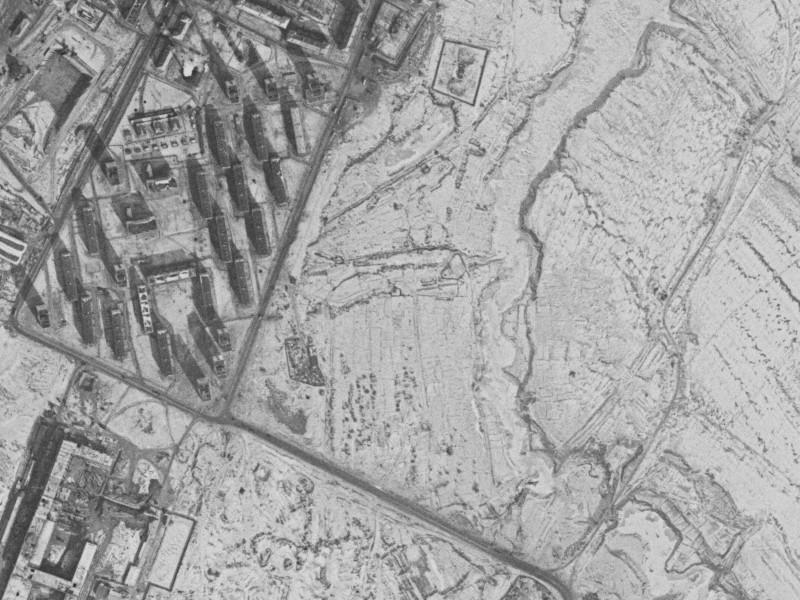 1972.02.28 Озерная ул. (ю.кв.), река Очаковка и окрестности