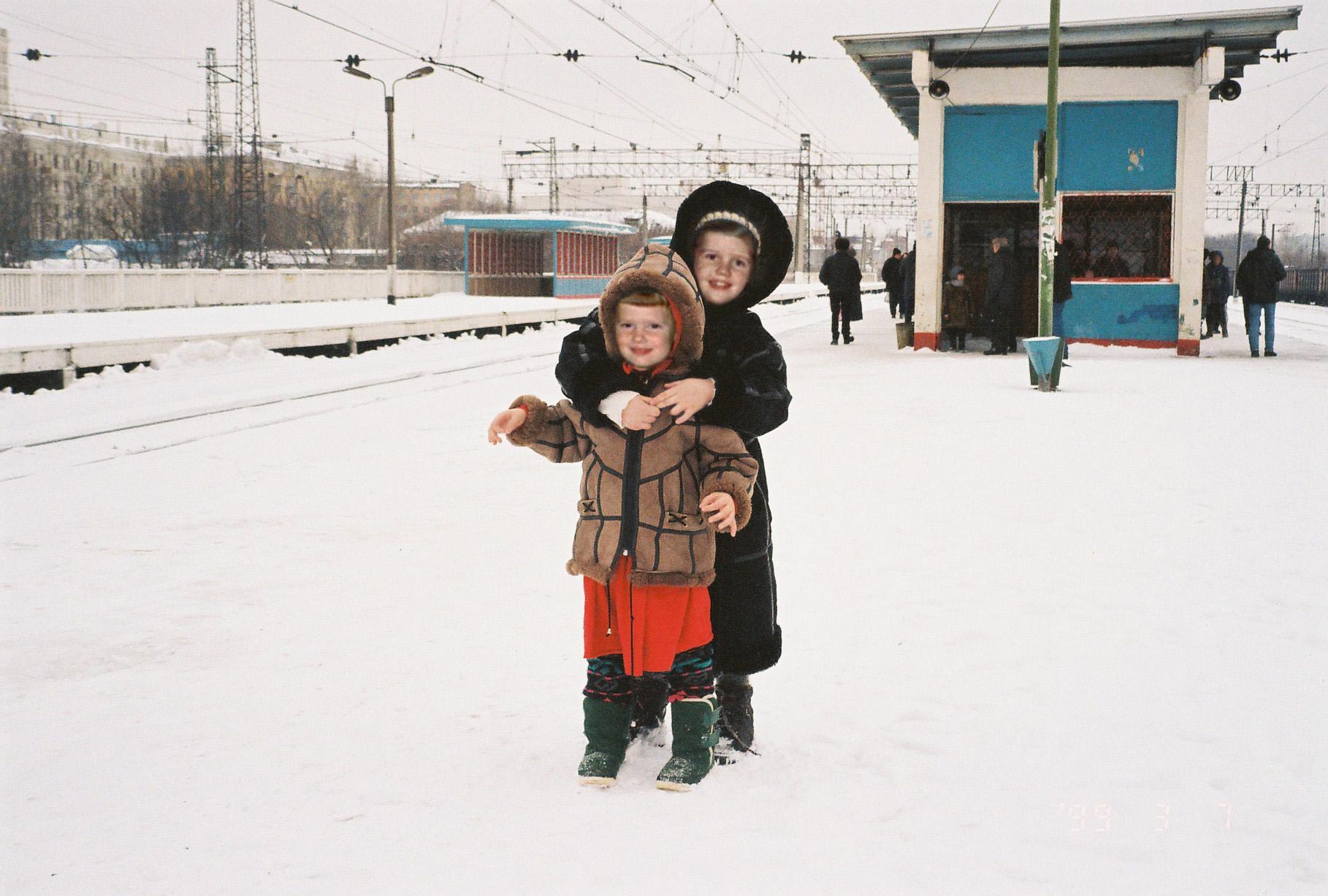1999 станция Очаково (7 марта)