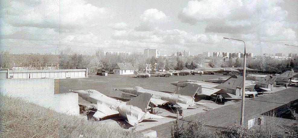 1980 «Панорама аэродрома в 80-е годы»