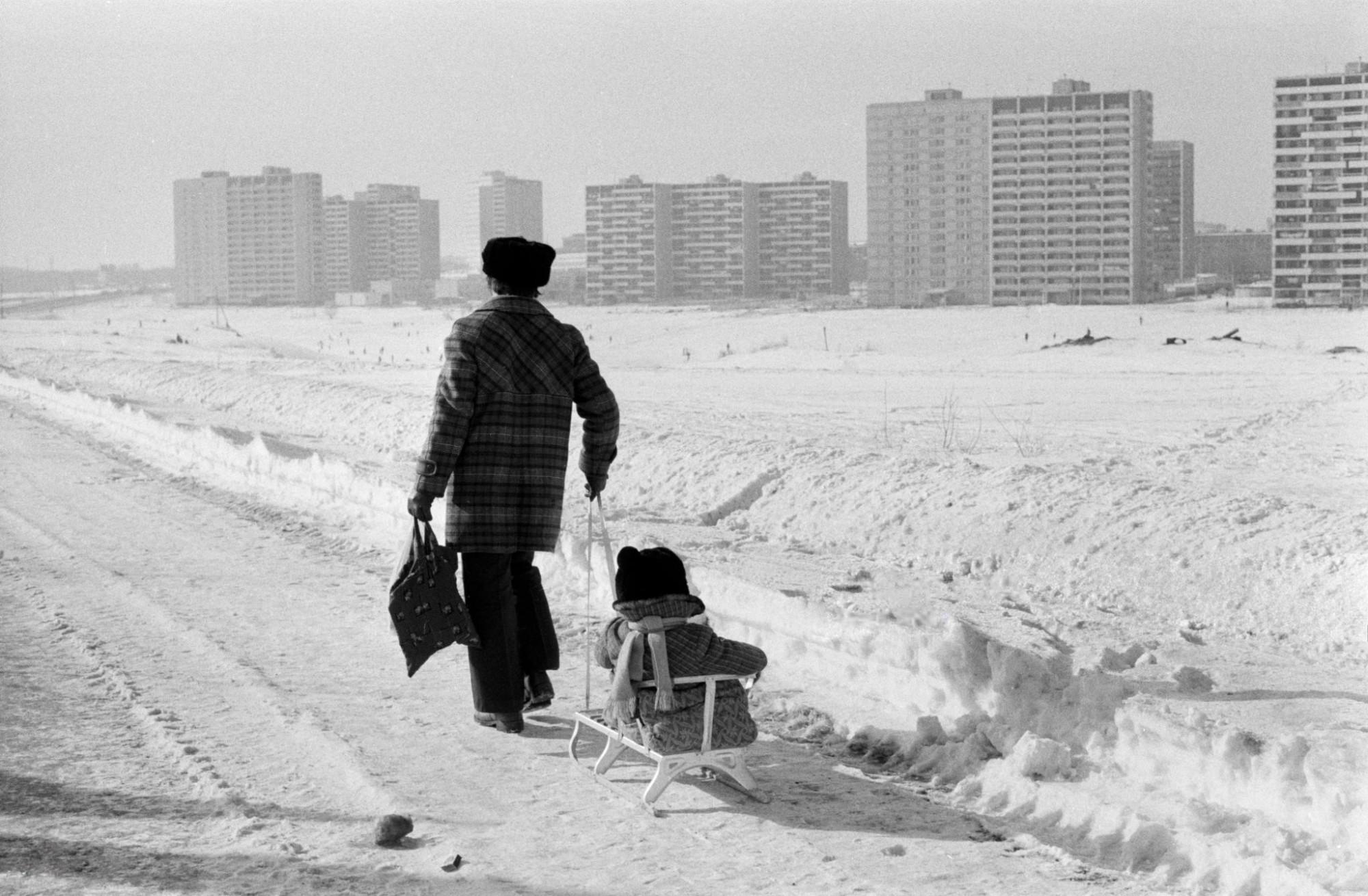 1981 Вид на Очаково от Мичуринского проспекта. Daniel Simon