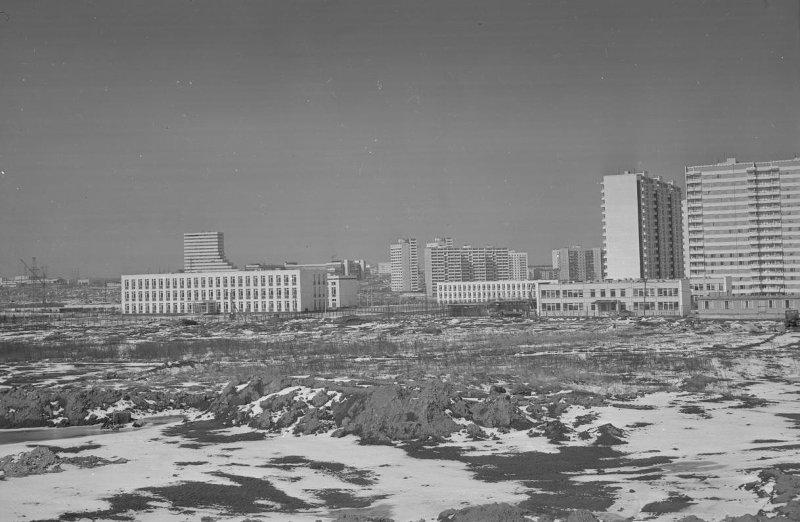 1979 Олимпийская деревня. Петров Ю.Е.