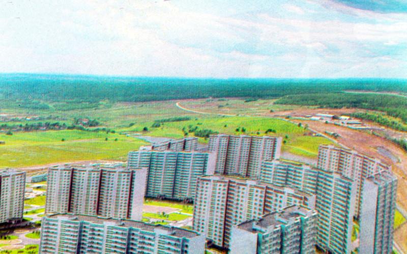 1980 Вид на Никулино с высоты