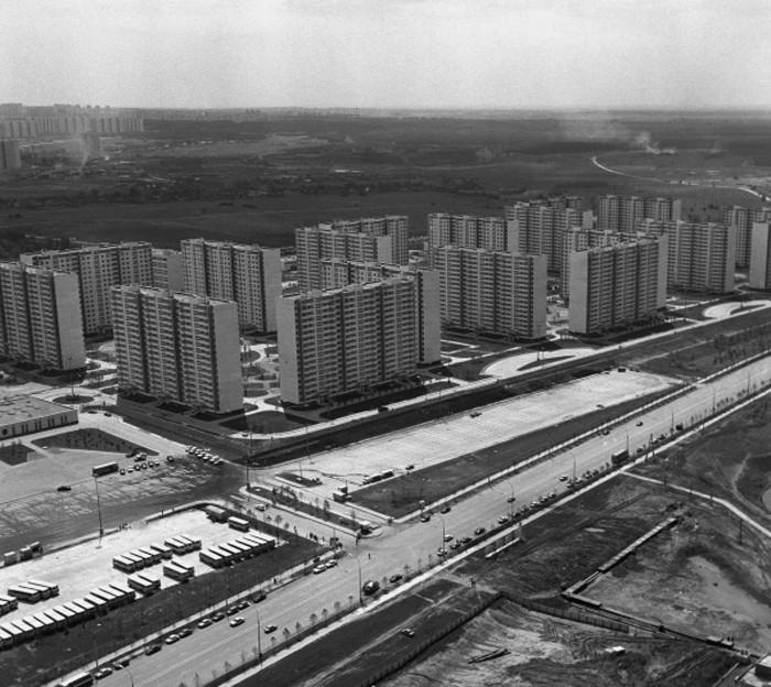 1985 Олимпийская деревня. Юрий Абрамочкин