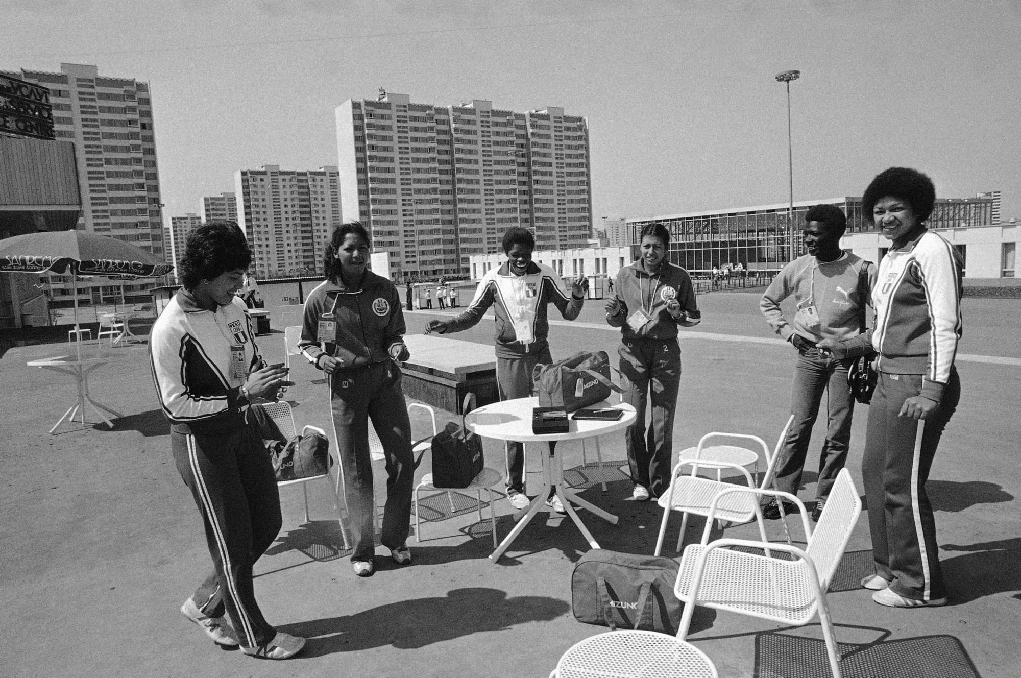 1980 Олимпийская деревня. Фотоархив ТАСС