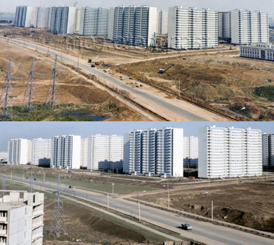 1979 Олимпийская деревня.  В.Зубарев, В. Егоров, А. Стужи, ТАСС