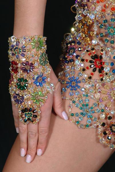 Украсить платье своими руками бусинами