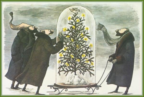 Эдвард-Гори--1-Artists-Christmas-Cards-WeaSnF
