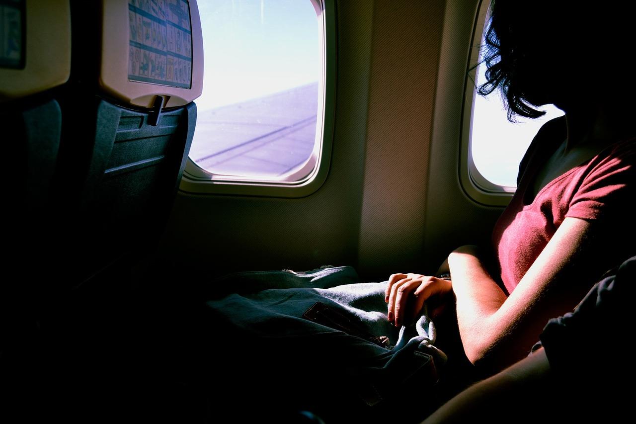 Вид из самолета поразил пассажиров...