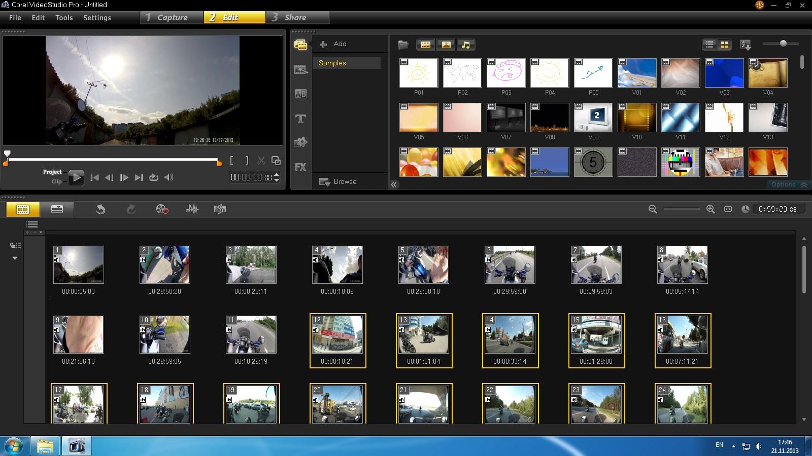 Программу для создания видео поздравления