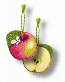 Яблочко-игольница