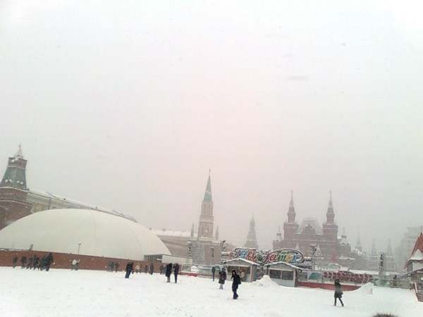 Москва собянинская. Начало 2013 года...