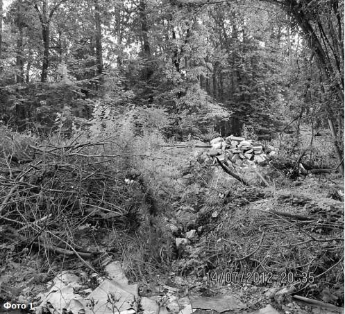 Свалка на месте снесенных домов Парковая троицк