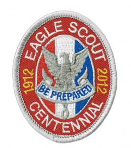 Eagle Scout Centennial patch