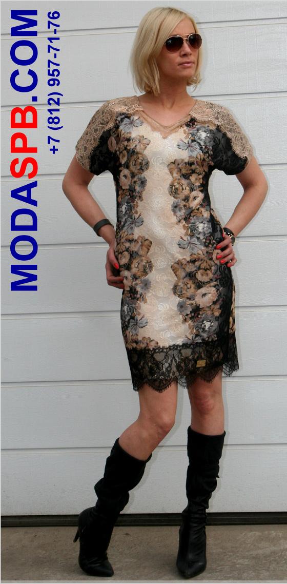 Кружевное платье 2700 р