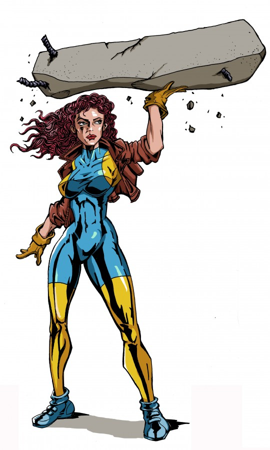 Odessa-citi - Наша супергероиня.