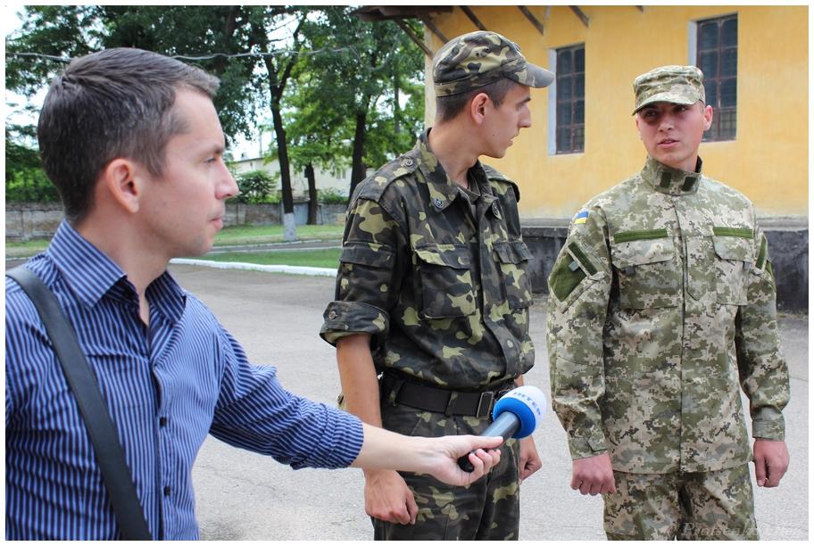 Новая форма украинской армии