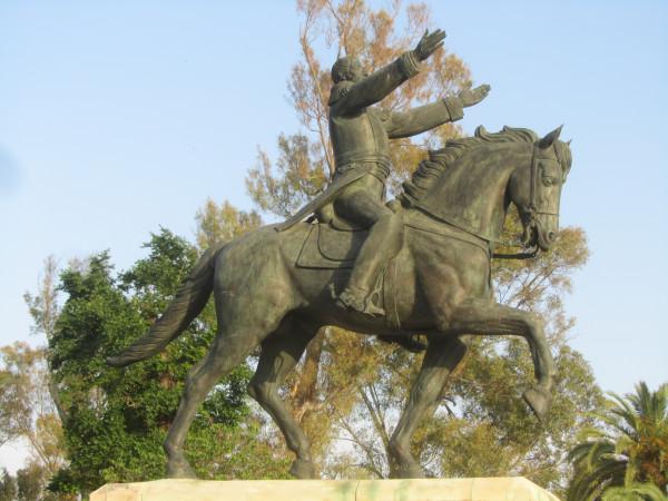 Симон Боливар в Севилье