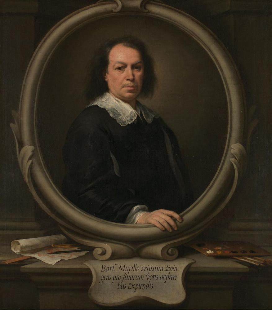 Автопортрет. Мурильо. 1673.