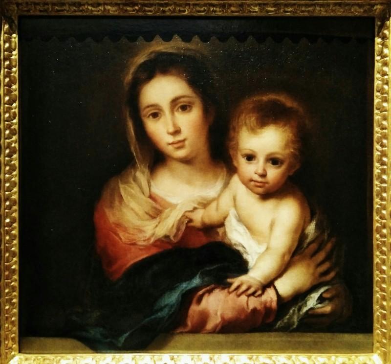 Мадонна с салфеткой. 1666. Sevilla