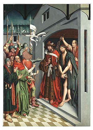 Ecce Homo, tabla procedente del retablo de Ciudad Rodrigo, The University of Arizona Museum of Art.