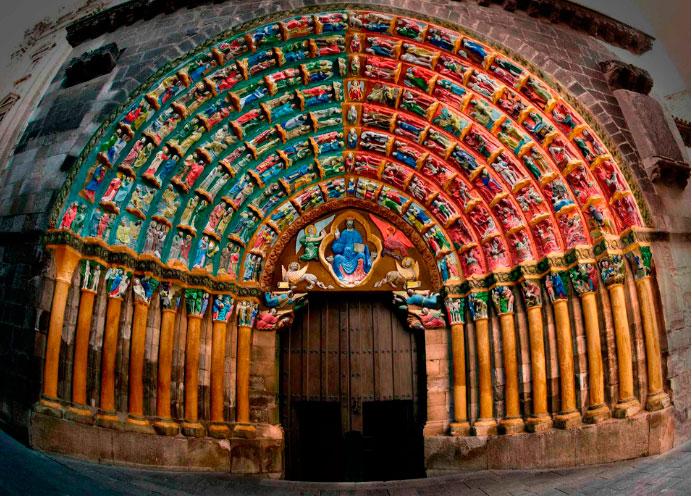 Кафедральный собор в городе  Тудела(Tudela)