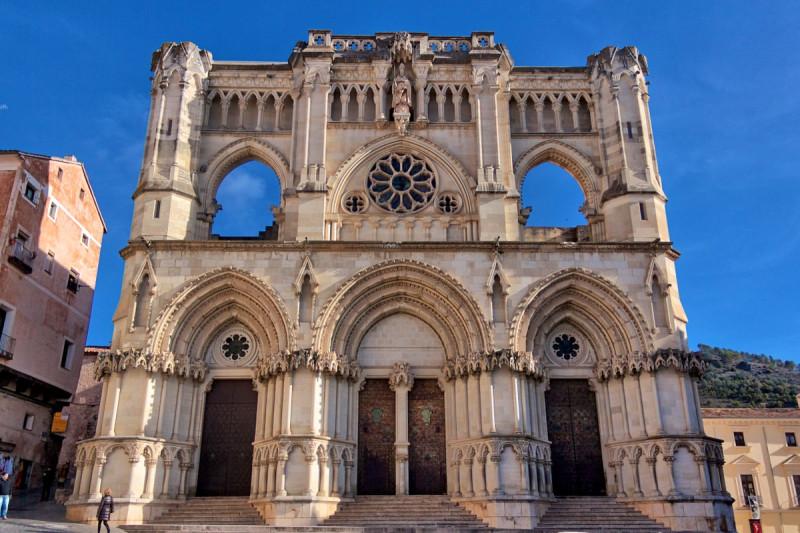 Кафедральный собор в городе   Куэнка(Cuenca)