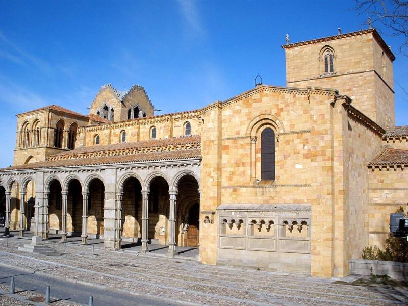 Базилика Святого Викентия в Авиле (Avila)
