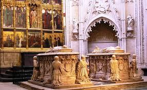Альваро де Луна (Каньете, ок. 1390-Вальядолид, 2 июня 1453 г.) был кастильским дворянином из дома Луны, ставшим констеблем Кастилии, Повелителем Ордена Сантьяго Он похоронен в часовне Сантьяго, в  соборе Толедо.