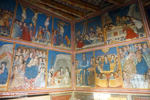 Ferrer Bassa. Capilla de San Miguel, Real Monasterio de Santa Naria de Pedralbes. Barcelona. 1341-1346.
