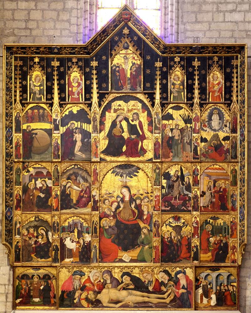 Санта Мария  Манреса (Барселона) 1394 . Пер Серра(Pere Serra)