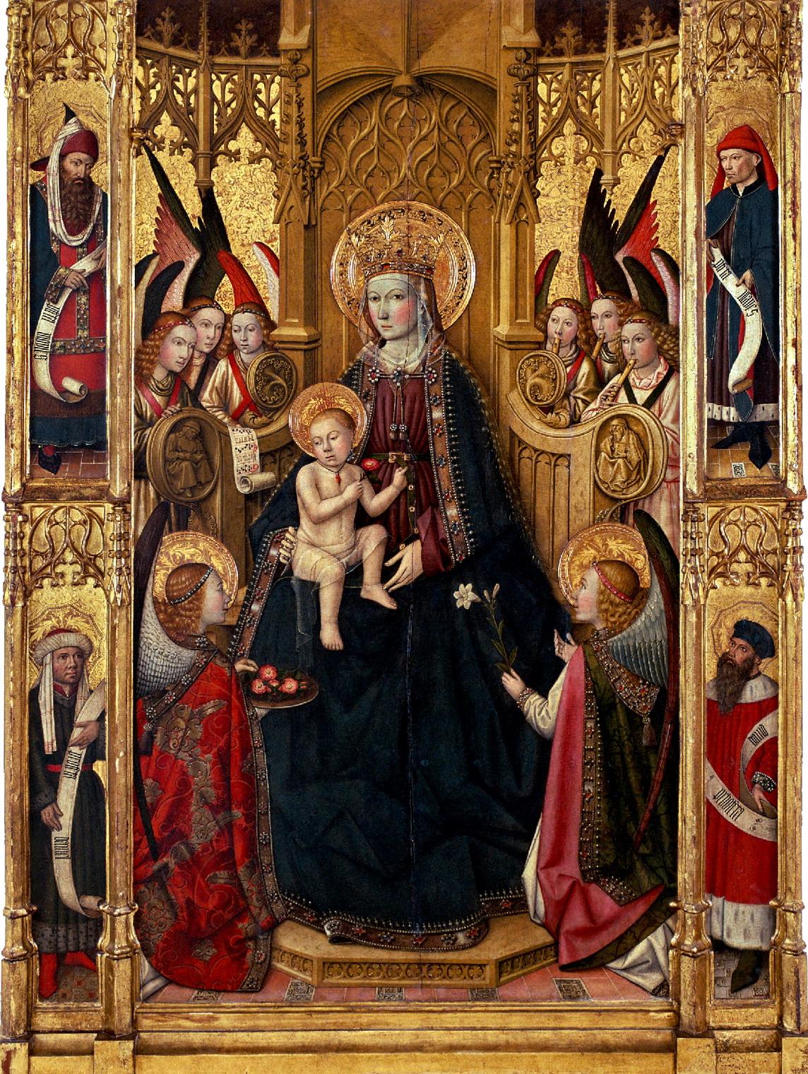 la Mare de Déu. Al Museu Diocesà de Tarragona