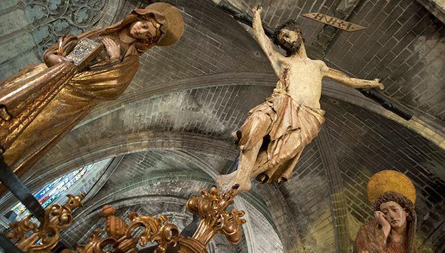 Крусификадо-дель-Мильон. XIII Кафедральной собор Севильи