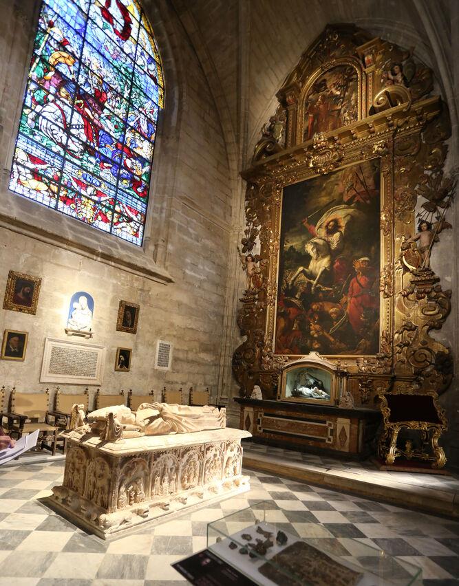 Capilla de Santiago de la catedral  de Sevilla