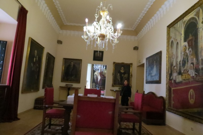 Интерьер дома -дворца Пинело
