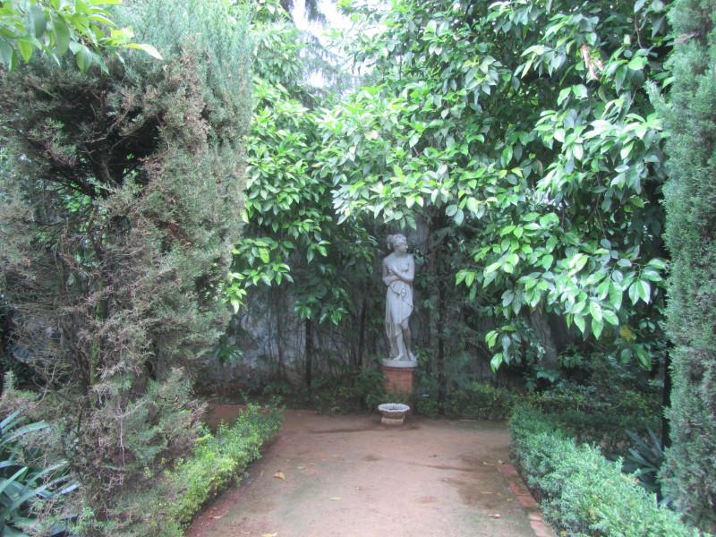 Сад дворца герцогини Альба