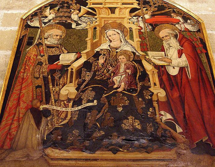 Virgen de Gracia. Juan Sanchez de Castro. Catedral de Sevilla