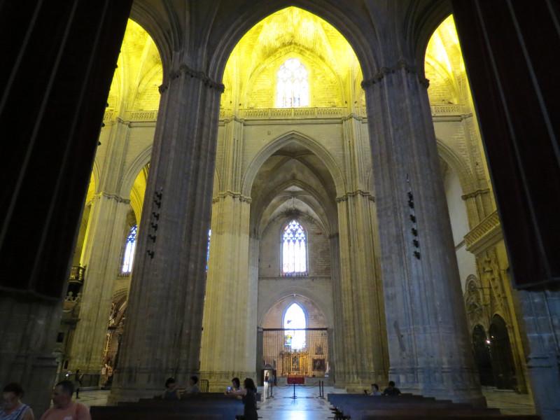 Кафедральный собор в Севилье.