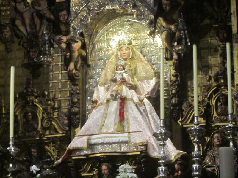 Дева Мария Королевская. Середина XIII века Дерево