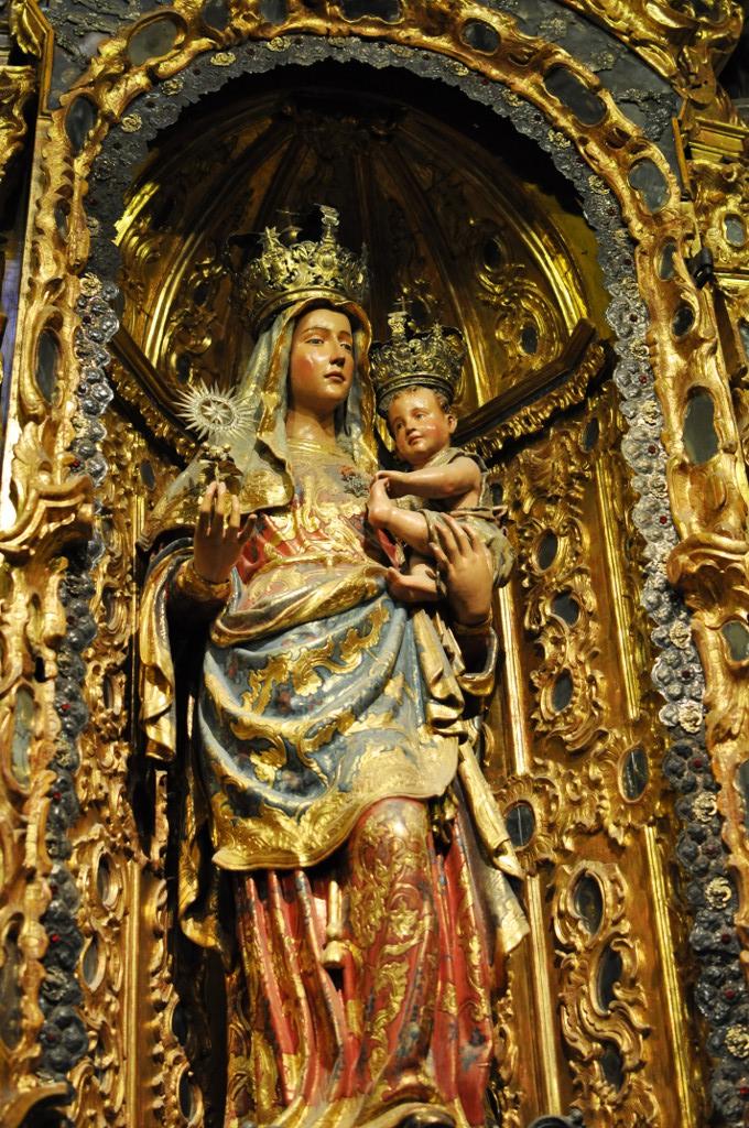 Virgen de la Estrella. Nicolás de León  Catedral Sevilla. XVI