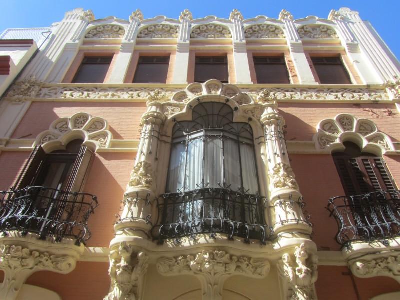 Здание  27-29 на улице Альфонсо XII.