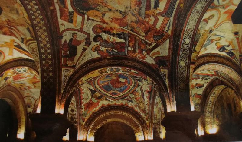 Общий вид росписи сводов  Пантеона XI - XII