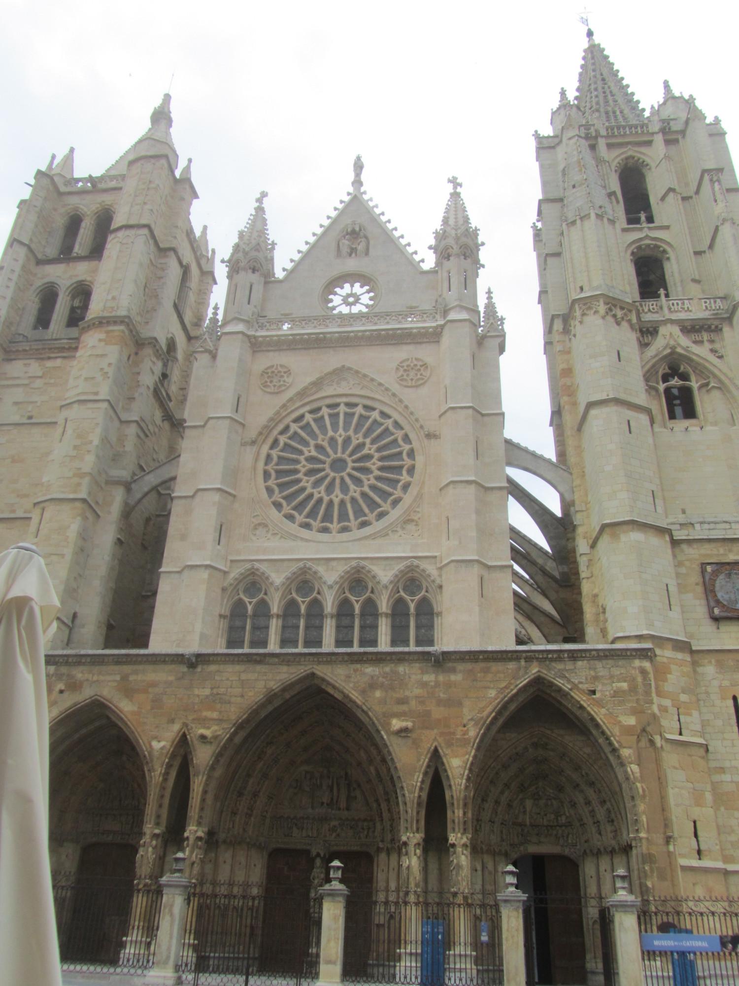 Западный фасад Кафедрального собора