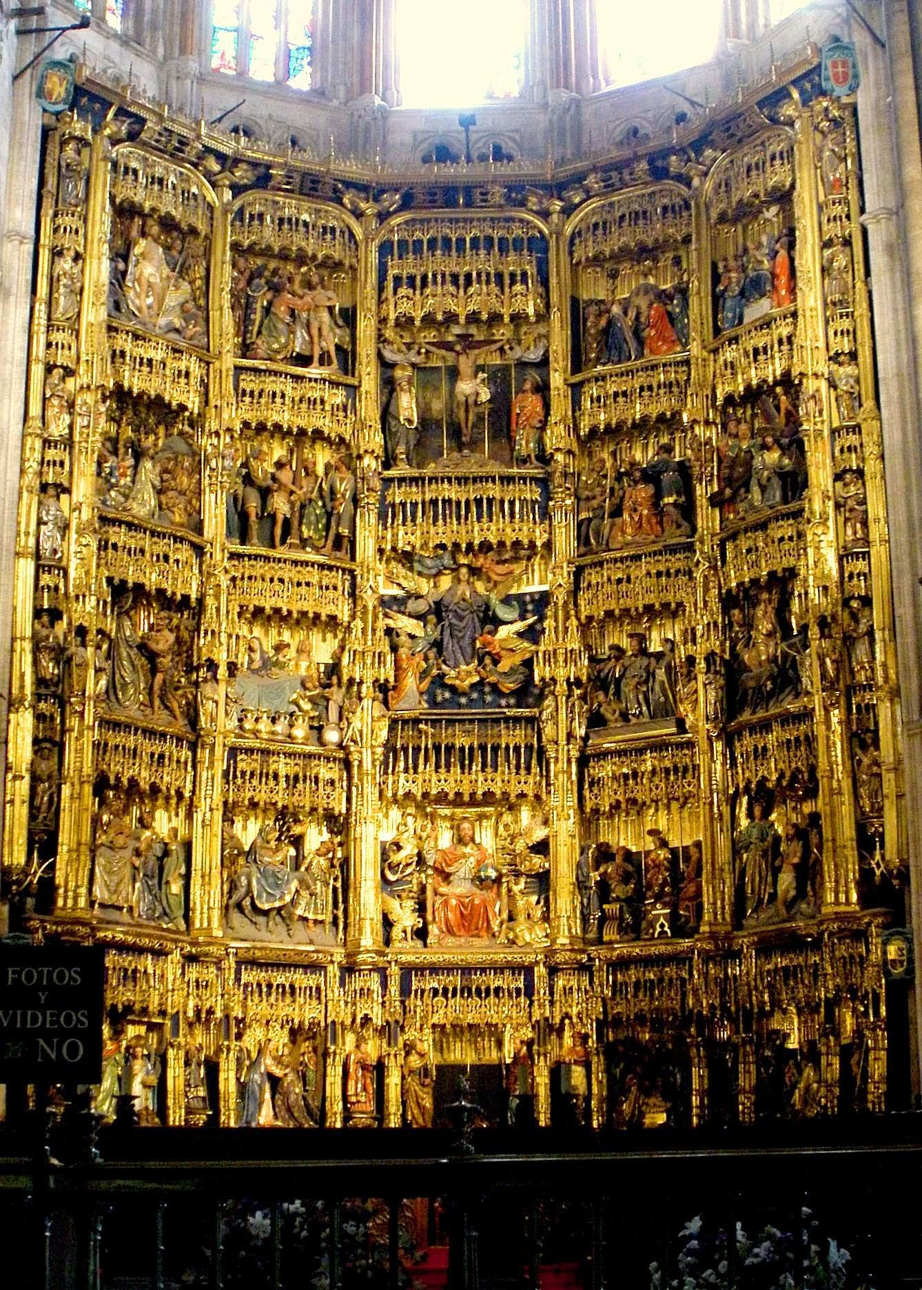Главный алтарьLeón Picardo y Juan de Balmaseda 1512